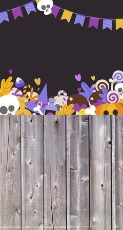 Tło halloween 160x300 cm / W09 (1)