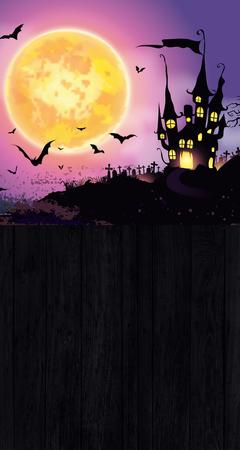 Tło halloween 160x300 cm / W16 (1)