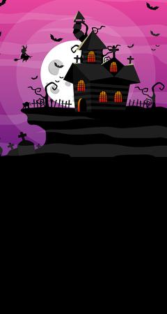 Tło halloween 160x300 cm / W18 (1)