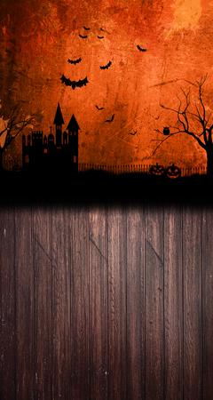 Tło halloween 160x300 cm / W22 (1)