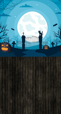 Tło halloween 160x300 cm / W26 (1)