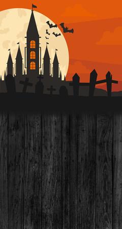 Tło halloween 160x300 cm / W28 (1)